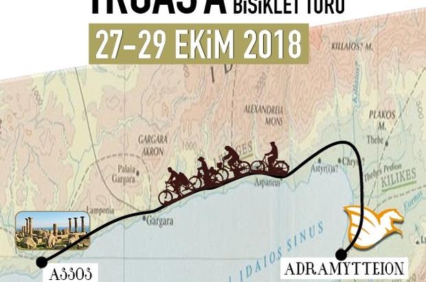 Adramytteıon'dan Troas'a Kamplı Bisiklet Turu
