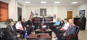 """Başkan Boz: """"Çankırı'nın adının başarılı işlerle anılması önemli bir hizmet"""""""