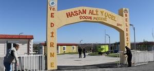 """Çocuklar dünyayı görerek öğrenecek Balkanların en büyük İnteraktif Çocuk Müzesi Edirne'de kapılarını açıyor Edirne Belediye Başkanı Recep Gürkan: """"Türkiye ve Balkanların en büyük çocuk müzesi"""""""