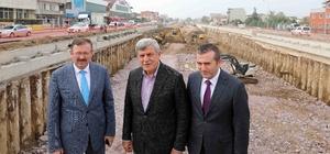 Başkan Karaosmanoğlu inceleme yaptı