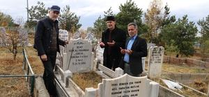 Şehit Âşık Ali Rahmani ölümünün 25. yılında mezarı başında anıldı