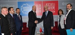 İçişleri Bakanı Soylu, Yunan Göç Bakanı ile bir araya geldi