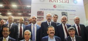 KTO, Kayseri'nin yöresel ürünlerini YÖREX'te tanıttı