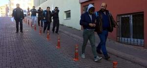 İstanbul'dan gelerek hırsızlık yapan 5 şahıs tutuklandı