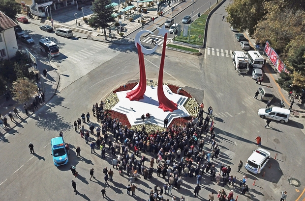 Cumhuriyet anısına bin 1923 fidan toprakla buluştu Bozüyük'te Cumhuriyet Bayramı kutlamaları