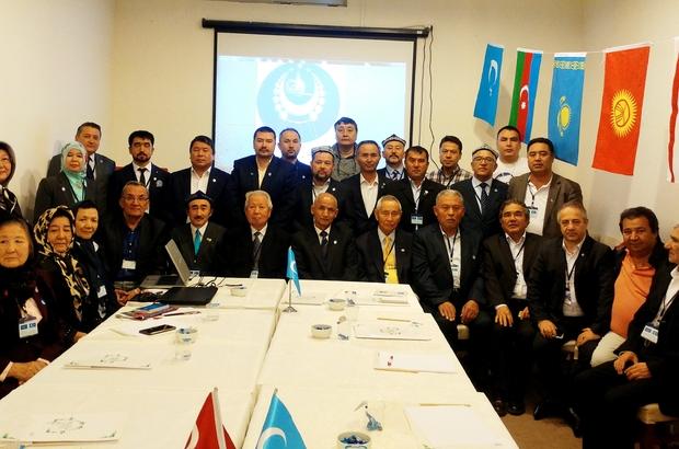 Doğu Türkistanlılar cumhurbaşkanını Muğla'da seçti Doğu Türkistan Sürgün Hükümeti 8. dönem toplantısı Muğla'da gerçekleştirildi Yeni Cumhurbaşkanı Gulam Osman Yağmaoğlu yemin ederek görevine başladı