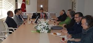 Bafra'da Kızılırmak Deltası saha ziyaretleri görüşüldü