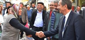 Başkan Ataç Emirdağ'da temaslarda bulundu