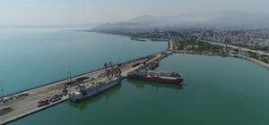 Samsun'da ihracat yüzde 103,4 arttı, ithalat yüzde 44,8 azaldı En fazla ihracat Filipinler'e yapıldı