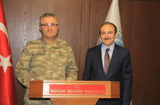 Tuğgeneral tokel'den başkan vekili epcim'e ziyaret - Hakkari Haberleri