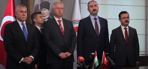 """Adalet Bakanı Gül: """"(Kaşıkçı cinayeti) Suudi yetkililerin bu konuda yakın bir iş birliğine girmesini bekliyoruz, iş birliği içinde destek vermeleri lazım tüm olayın aydınlatılması için."""""""