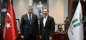 Kaymakam Yılmaz'dan Başkan Ataç'a ziyaret