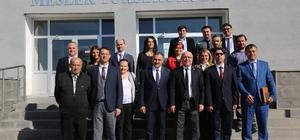 Kayseri Üniversitesi Rektörü Karamustafa'dan Seyrani kampüsüne ziyaret