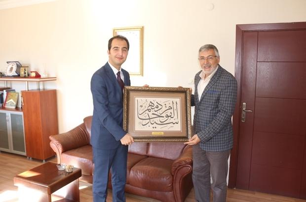 Başkan Bozkurt'tan Kaymakam Uzan'a hayırlı olsun ziyareti
