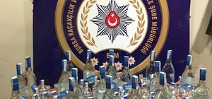Bursa'da kaçak içki ele geçirildi