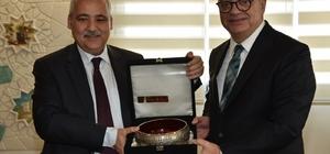 Başkan Ergün Vali Güvençer'i ağırladı