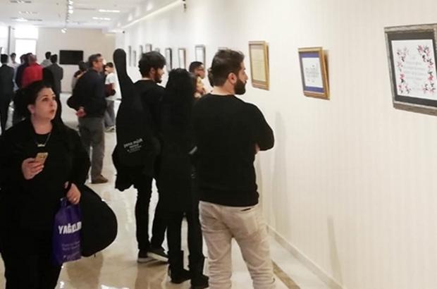 """""""Kuruluşun Hikmeti"""" kaligrafi sergisi açıldı"""