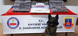 Kayseri'de piyasa değeri 400 bin TL olan uyuşturucu hap ele geçirildi