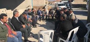 Başkan Cabbar'dan Sindelhöyük mahallesine ziyaret