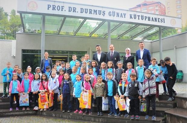 Çaycuma Burunkaya Şehit Emrah Kartal İlkokulu kütüphaneyi ziyaret etti
