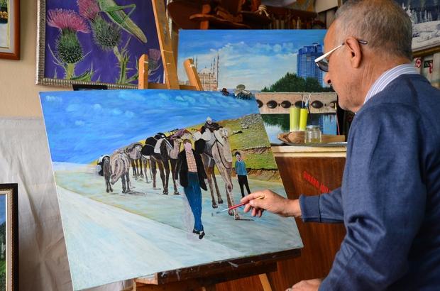 61 Yıllık Terzi 70'inden Sonra Ressam Oldu ile ilgili görsel sonucu
