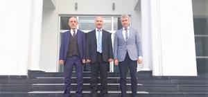 Bölge Adliye Mahkemesi Başkanı Koçer'den Başkan Öztürk'e ziyaret
