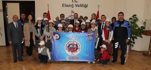 """Elazığ'da """"Çocuklar için Çıktık Yola"""" projesi"""