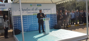 Erdek'te doğalgaz açılışı yapıldı