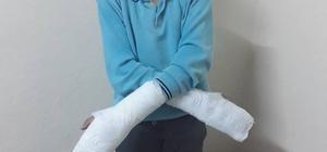 Müdürün okuldan kaçtı diye öğrencinin parmaklarını kırdığı iddiası