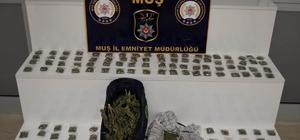 Polisten uyuşturucu tacirlerine darbe
