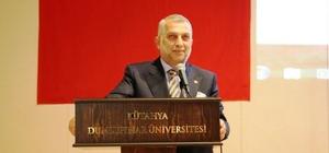 DPÜ'de 'Çok Kutuplu Dünyada Türkiye' konulu konferansı