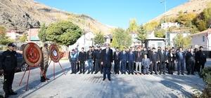 Çatak'ta 10 Kasım Atatürk'ü anma etkinliği