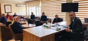 AK Parti Kadın Kolları üyeleri Kaymakam Altıner'i ziyaret etti