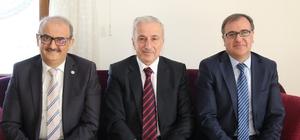 Vali Kamçı'dan Başkan Ekici'ye veda ziyareti