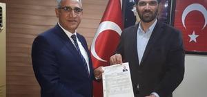 """Pamuk: """"Seyhanımızı imar etmeye talibim"""" Eski AK Parti Seyhan İlçe Başkanı ve 25. Dönem Milletvekili Adayı Kasım Pamuk, Seyhan Belediye Başkanı Aday Adaylığı için müracaat etti"""