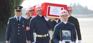 Şehit Halil Daş'ın cenazesi Konya'ya getirildi