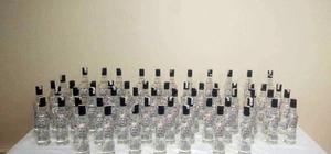 Balıkesir'de 60 şişe kaçak rakı ele geçirildi
