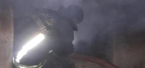 Van'da korkutan kömürlük yangını