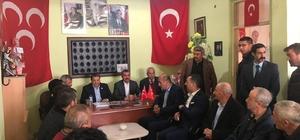 Milletvekili Fendoğlu'ndan iki ilçeye ziyaret
