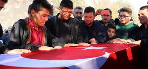 Şehit Topçu Uzman Çavuş Halil Daş son yolculuğuna uğurlandı