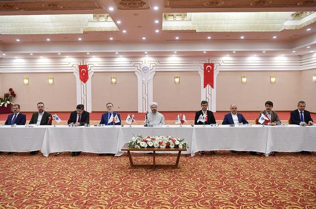 """""""2018 Yılı Hac ve Umre Hizmetleri Değerlendirme Toplantısı"""""""