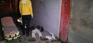 Öldü sanılan adam aşırı alkollü çıktı