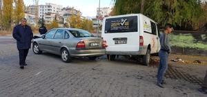 Develi'de trafik kazası:4 yaralı