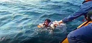 Faciadan kurtulan düzensiz göçmenler hastaneye sevk edildi Ölen 5 düzensiz göçmenden 3'ü çocuk
