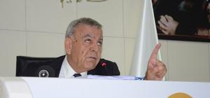 """İzmir Büyükşehir Belediyesi Meclisinde gerginlik Başkan Kocaoğlu: """"Büyükşehir Başkanı ayda gezmiyor, randevu alın, burada konuşamazsınız"""""""