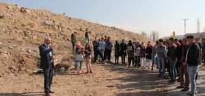 İncesu'da ağaçlandırma çalışmaları devam ediyor