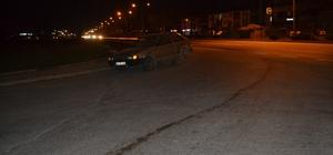 İnegöl'de facianın eşiğinden dönüldü 8 aracın lastikleri yola düşen metaller nedeniyle peş peşe patladı