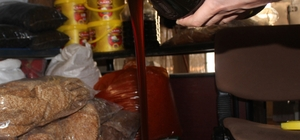 Siverek'te bağ ürünleri tezgahlarda yerini aldı