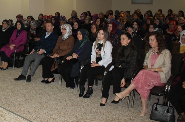 Kadınlara sağlıklı yaşam semineri