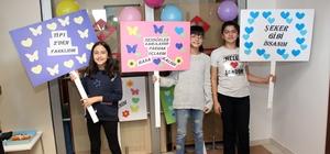 Dünya Diyabet Günü'nde çocuk hastalara dikkat çektiler